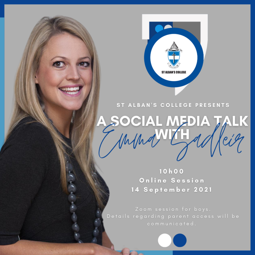 A SOCIAL MEDIA TALK WITH EMMA SADLEIR